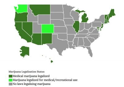 4 More States Could Legalize Medical or Recreational Marijuana Soon